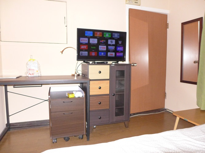 Osaki204 bed anddoor